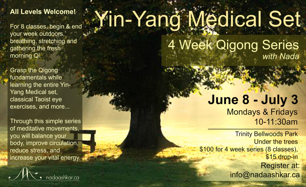 Yin-Yang Medical Set 4 week series